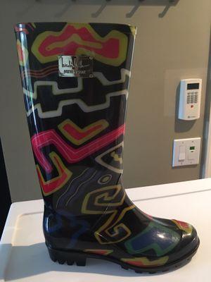 RAIN BOOTS Nicole Miller -size 6 for Sale in Naples, FL