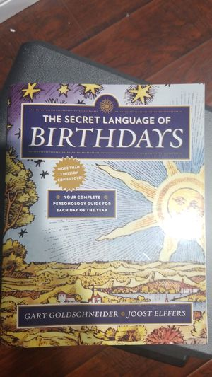 Birthday Language Book for Sale in View Park-Windsor Hills, CA