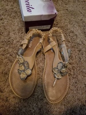 Sandals size 7.5 for Sale in Saginaw, TX