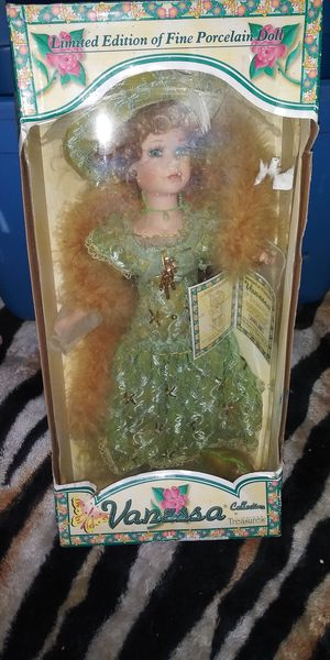 Vanessa porcelain doll. for Sale in McRae-Helena, GA