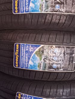 195-65-15!!! GOODYEAR ASSURANCE!!! for Sale in Compton,  CA