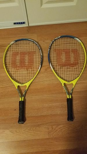 Wilson tennis rackets for Sale in Los Angeles, CA