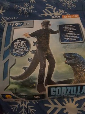 NWT boys Godzilla Halloween costume for Sale in Forest Lake, MN