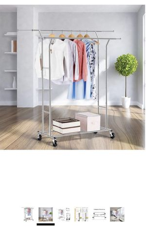 Double bar clothing rack for Sale in Seattle, WA