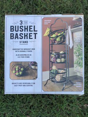 3 Tier Bushel Basket for Sale in Chester, VA