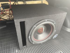 "Subwoofer 12"" 700RMS 1400W for Sale in Camden, NJ"