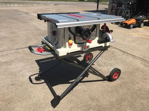 """JET 10"""" job site table saw JBTS-10MJS Professionals table saw for Sale in Austin, TX"""
