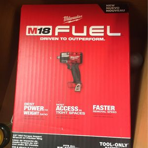 Milwaukee M18 Fuel 3/8 Impact New for Sale in Mesa, AZ