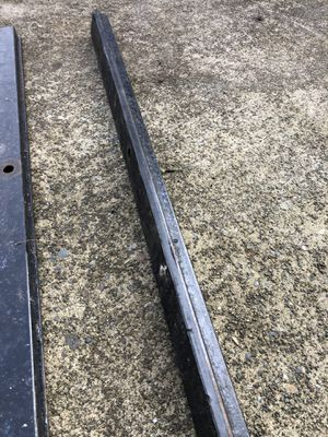 Rubber backed snowmobile tiedown bars for Sale in Fife, WA
