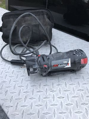 ROTO ZIP Router/cutting tool w/ power chord for Sale in Portland, OR