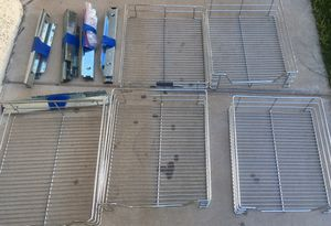 Set of 5 heavy duty pull out shelves for Sale in Phoenix, AZ