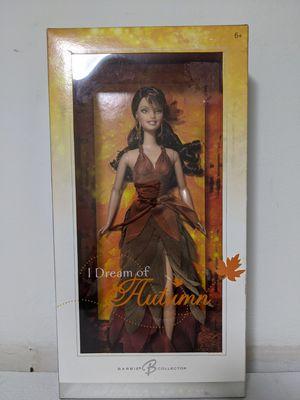 New in Box Collector's Silver Label 2006 I Dream of Autumn Barbie for Sale in Wheaton, IL