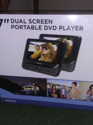 """7"""" Dual Screen Portable CD Player for Sale in Riverview, FL"""