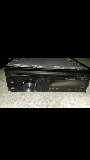 Pioneer car stereo mp3 aux new my best price $60 no less please for Sale in San Bernardino, CA