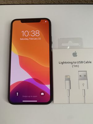 iPhone X Unlocked 64GB for Sale in Los Angeles, CA