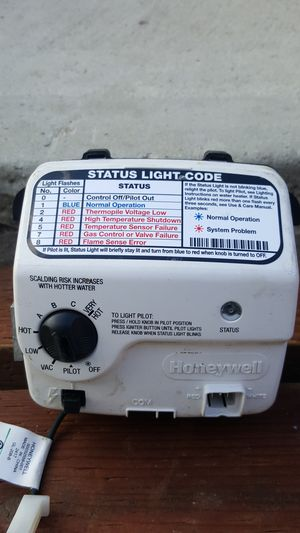 Honeywell Water heater Controller buy this one and one used free for Sale in San Diego, CA