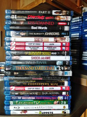 Brand New DVDs/Bluerays/digital download for Sale in Gibsonburg, OH