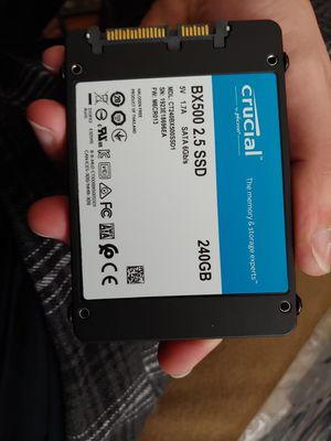 240 gb SSD crucial bx500 for Sale in Chesterfield, VA