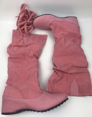 Womens girls Pink Rain Boots SIZE 6 Uggs Style BRAND NEW $10 for Sale in Henderson, NV
