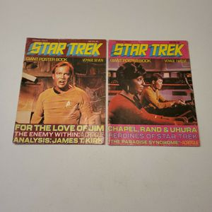 Star Trek Giant Poster Book 7 And 12, 1977, Rare Lot Of 2 for Sale in Fresno, CA