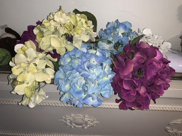 Flores en madera