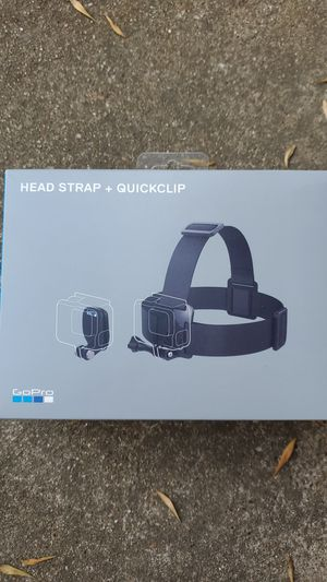 GoPro head strap + quickclip for Sale in Bedford, TX