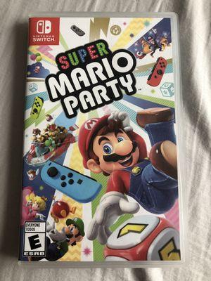 Super Mario Party Switch for Sale in Alpharetta, GA
