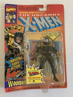 1993 Toy Biz Marvel The Uncanny X-MEN Wolverine Action Figure for Sale in Ocoee, FL