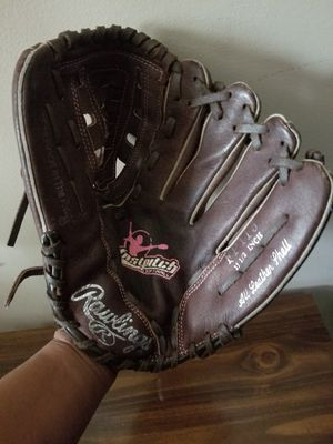 Rawlings leather softball glove for Sale in Capitol Heights, MD