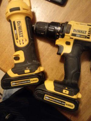 Dewalt power tools 20v for Sale in Sunset Valley, TX