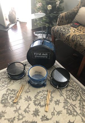 First Act Discovery Drum Set for Sale in Temecula, CA