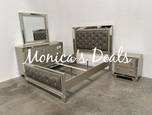 Queen size mirror bed frame $330 for Sale in Torrance, CA