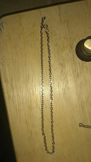 Men's Sterling Silver chain necklace for Sale in Burien, WA