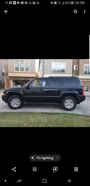 09 jeep patriot for Sale in Houston, TX