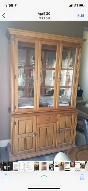 Pulaski China cabinet for Sale in Hanford, CA