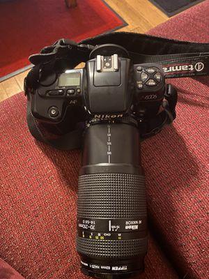 Nikon AF N6006 camera with Nikon AF Nikkor 70-210mm len for Sale in Catlett, VA