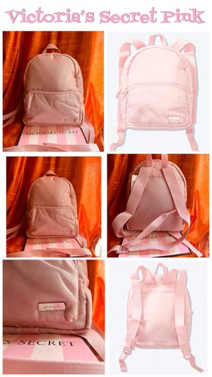 Victoria's Secret pink mini backpack New with tags 🏷 $25 PRICE IS FIRMM🙅🏻♀️ (tag price $29.95) PICK UP ONLY for Sale in Los Angeles, CA