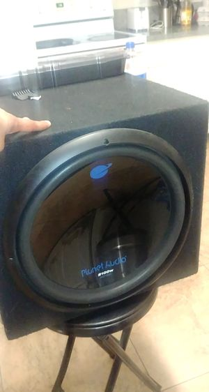 """15"""" Subwoofer bass 2,100W ... PLANET AUDIO for Sale in Fontana, CA"""