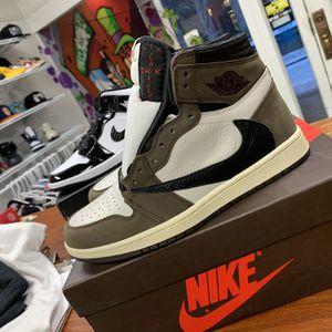 Travis Scott Jordan 1 High Size 9.5 for Sale in Danbury, CT