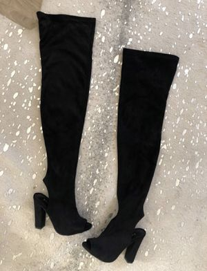 Over the knee boots size 6 for Sale in San Tan Valley, AZ