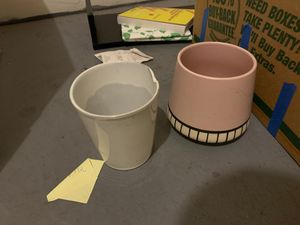 Vase/ flower pots for Sale in Boston, MA