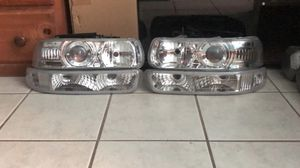 Chevy Silverado headlights and parking lights for Sale in West Sacramento, CA