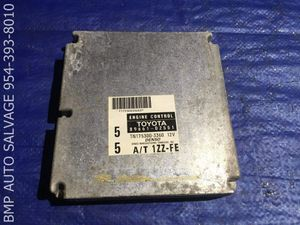 OEM 1999 TOYOTA COROLLA ECU # 89661-02551 ENGINE COMPUTER BRAIN ECM #1112 #T746 for Sale in Miami Gardens, FL