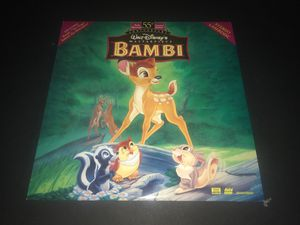 Bambi Laserdisc for Sale in Corona, CA