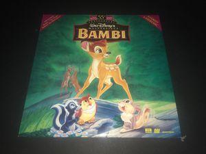 Bambi Laserdisc for Sale in Corona, CA