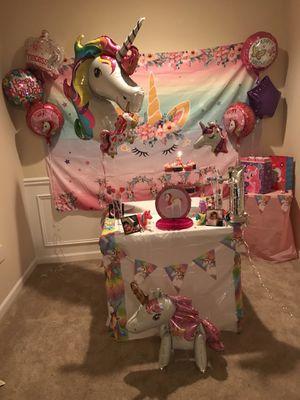 Unicorn 🦄 Party Theme for Sale in Stonecrest, GA