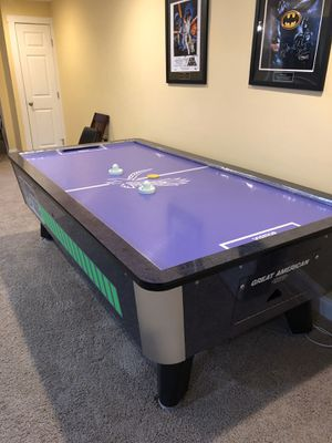 Great American 8' Arcade Quality Air Hockey Table for Sale in Medfield, MA