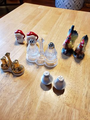 5 Salt and Pepper Shakers for Sale in Gresham, OR