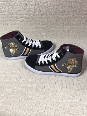 Polo Ralph Lauren Solomon Mid Bear Shoes Grey Rf102106 New without box for Sale in Tennerton, WV