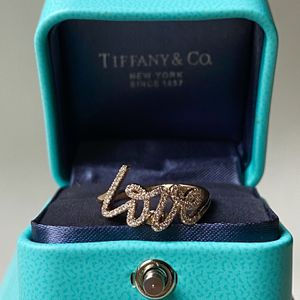 Tiffany&Co 18K Rose Gold Diamond Love Ring for Sale in Los Angeles, CA